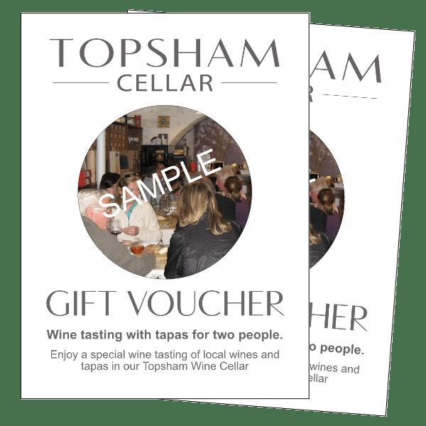 Topsham Cellar Gift Vouchers